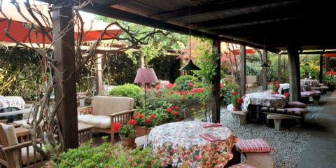 Al Garghet giardino esterno