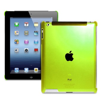 Cover Crystal Fluo iPad Green
