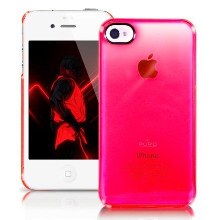 Cover Crystal Fluo iPhone 4_4s