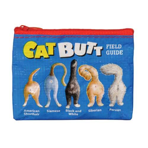 Blue Q Cat Butt