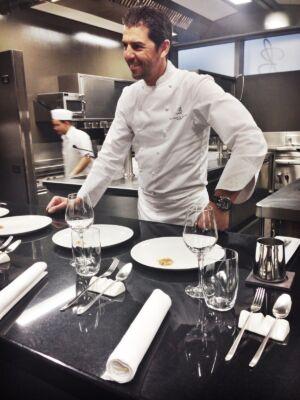 Chef Andrea Berton