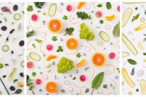 Still life frutta e verdura
