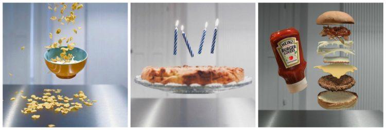 Torta di compleanno e candeline