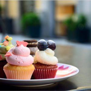 Cupcake DiViolediliquirizia
