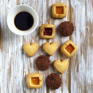 Caffè e biscotti