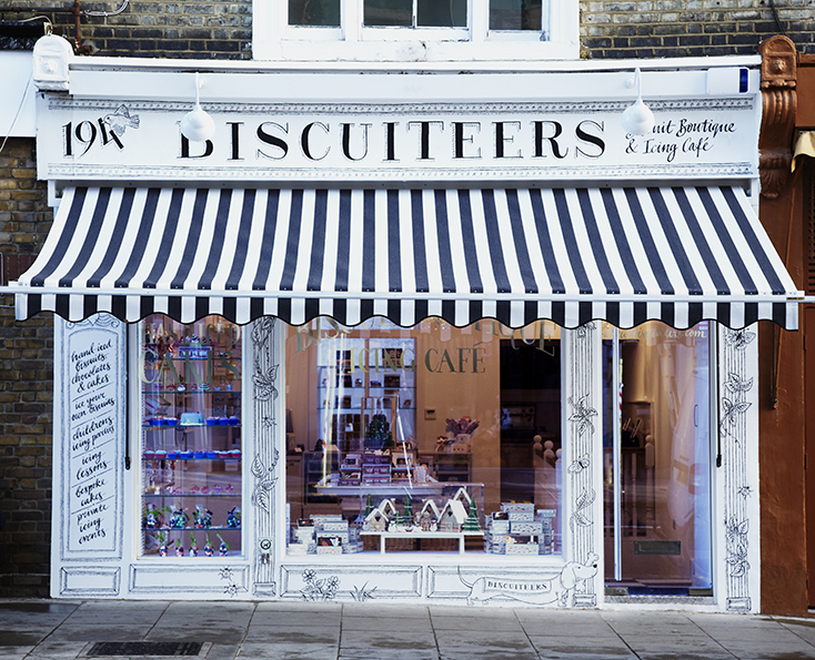Biscuiteers London Exterior