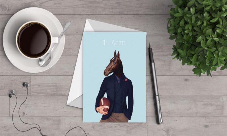 Mr Pepper Design - Cartolina