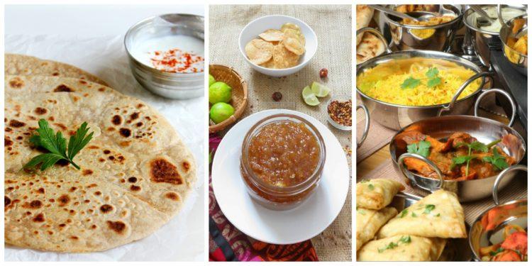 Piatti tipici India