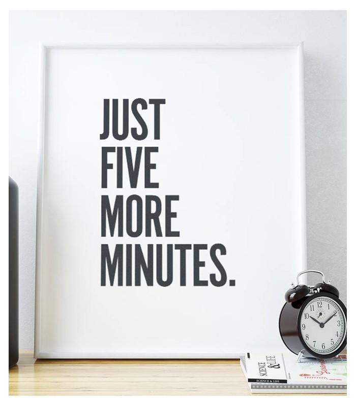 Poster Ancora 5 Minuti