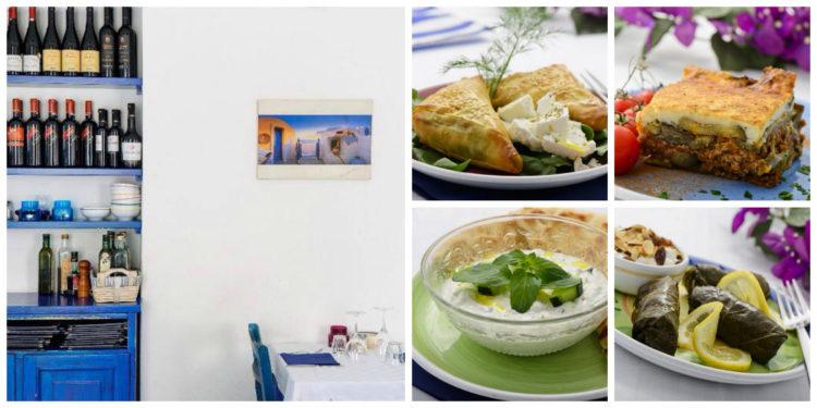 Esperides ristorante greco a Milano