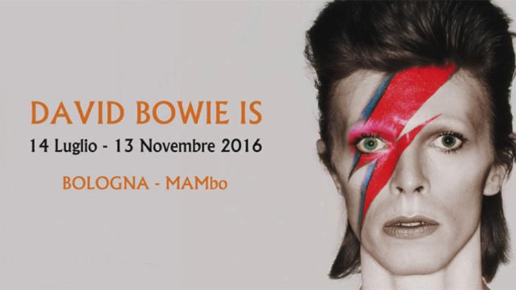 Locandina David Bowie Is mostra