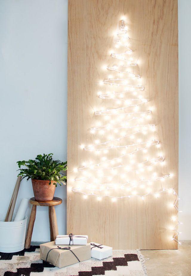 albero di Natale di luci