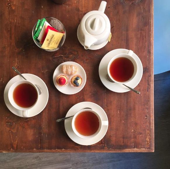 Carta da Zucchero tè del pomeriggio
