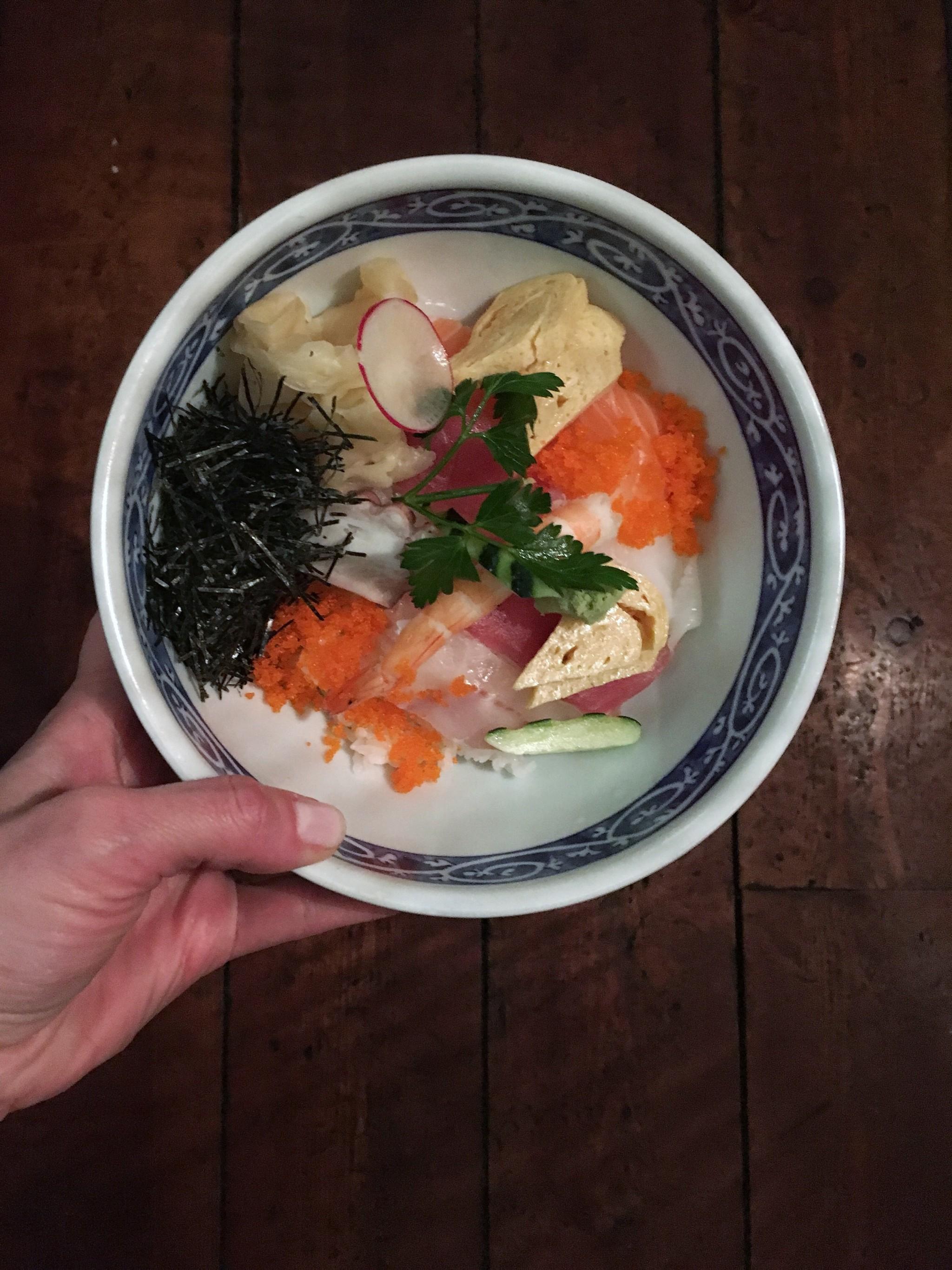 Chirashi - cibo giapponese