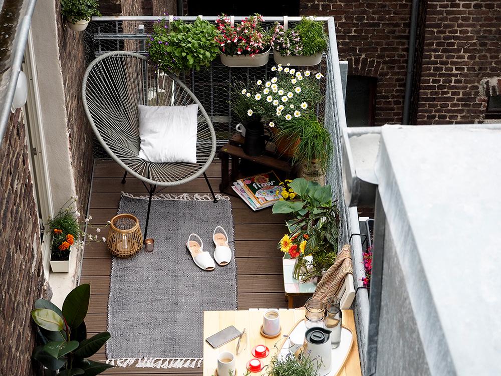 qui home - idee per arredare il balcone | pepite per tutti - Idee Arredamento Balcone