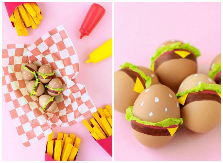 Qui diy uova di pasqua decorate pepite per tutti - Uova di pasqua decorate per bambini ...